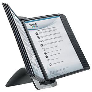 Durable Pupitre de table SHERPA Style 10, pour document A4, avec 10 pochettes