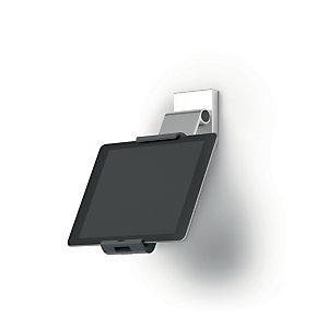 Durable Soporte mural con brazo variable para tablet 7-13'', plateado