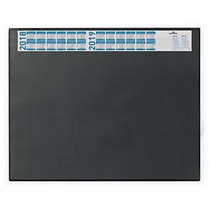 Durable Sottomano con calendario, 65 x 52 cm, Nero