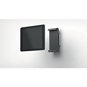 Durable Tablet holder da parete, 80 x 45 x 173 mm, Argento