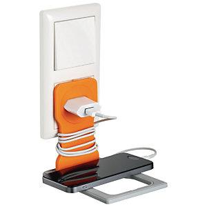 Durable VARICOLOR® Supporto universale per cellulare, Arancio