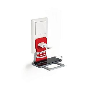 Durable VARICOLOR® Supporto universale per cellulare, Rosso