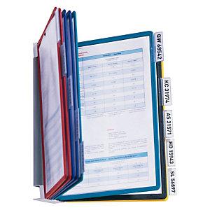 Durable Vario® Wall 10 Presentador de pared, A4, con 10 fundas