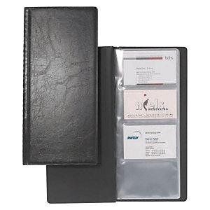 Durable VISIFIX Álbum de 128 tarjetas de visita, Capacidad para 128 tarjetas, 253 x 115 mm, Negro