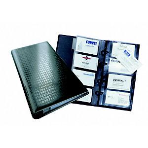 Durable VISIFIX Centium, album pour cartes de visite, 12touches, pour 200cartes, noir