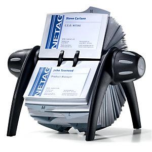 Durable Visifix flip vegas Tarjetero rotativo