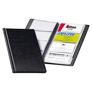 Durable VISIFIX, porte-cartes, 57x90mm, capacité de 96cartes, noir