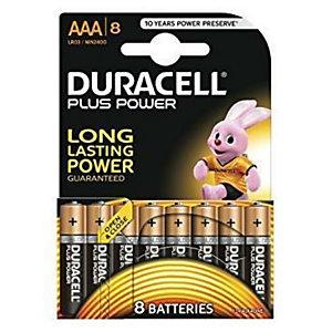 Duracell, Pile e torce elettriche, Cf8duracell plus power mstilo aaa, DU0210