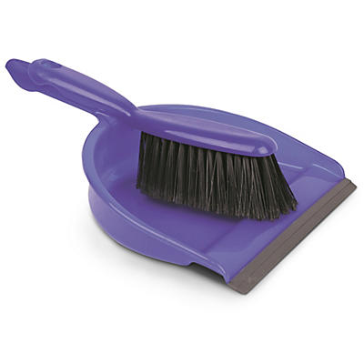 Dustpan and Brush Set - Blue