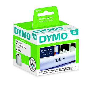 Dymo 1983172 LW Etiquetas de dirección, negro sobre blanco, 89 x 36 mm