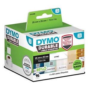 Dymo 2112286 Etiquetas LW Durable 25 x 25 mm 2 rollos