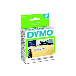 Dymo Etichette per l'indirizzo del mittente S0722520 LW Large, Nero su bianco 54 x 25 mm