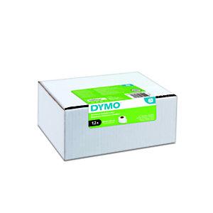 Dymo Étiquettes LW polyvalentes authentiques, 28 mmx89 mm, facilement détachables, auto-adhésives, pour étiqueteuses LabelWriter