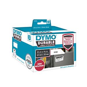 Dymo LW Durable 1933084 Etichette in rotolo, Multiuso, 57 x 32 mm, Bianco