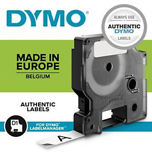 Dymo S0720880 D1 Estándar negro sobre amarillo 19 mm x 7 m