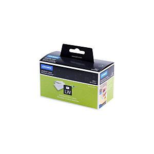 Dymo S0722380 LW Etiquetas de dirección, colores surtidos, 89 x 28 mm, paquete de 4