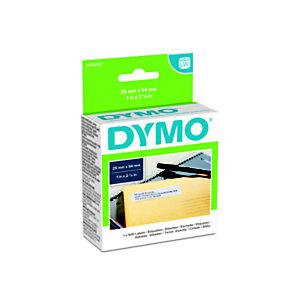 Dymo S0722520 LW grand format étiquettes d'adresse d'expéditeur noir sur fond blanc 54 x 25 mm
