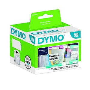 Dymo S0722540 LW Etichette multiuso Nero su bianco 57 x 32 mm (rotolo 1.000 etichette)