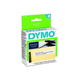 Dymo S0722550 LW Etichette multiuso Nero su Bianco 19 x 51 mm (rotolo 500 pezzi)