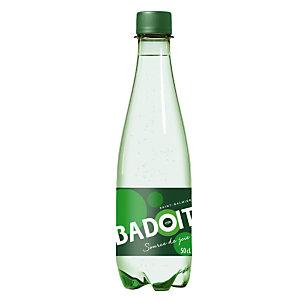 Eau gazeuse Badoit, en bouteille, lot de 30 x 50 cl