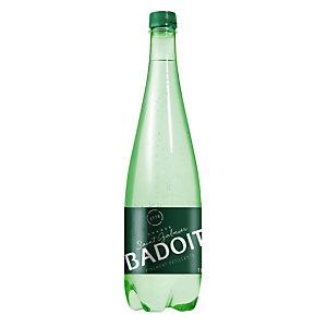 Eau gazeuse Badoit, en bouteille, lot de 6 x 1 L