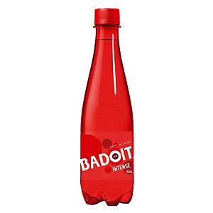 Eau gazeuse Badoit Rouge, en bouteille, lot de 24 x 50 cl