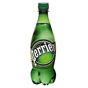 Eau gazeuse Perrier, en bouteille, lot de 6 x 50 cl