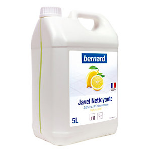 Eau de javel parfumée Bernard citron 5 L