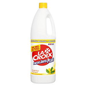 Eau de javel Plus nettoyante La Croix citron 1,5 L