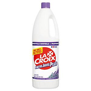 Eau de javel Plus nettoyante La Croix lavande 1,5 L