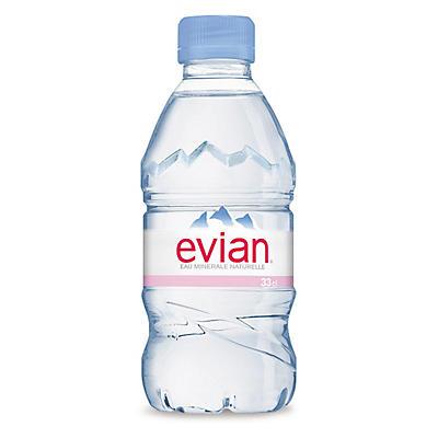 Eau minérale EVIAN 33 cl