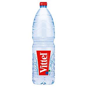 Eau plate Vittel, en bouteille, lot de 6 x 1,5 L