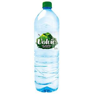 Eau plate Volvic, en bouteille, lot de 6 x 1,5 L