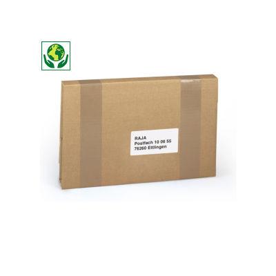 ECObook Kreuzbuchverpackung, braun, DIN A3