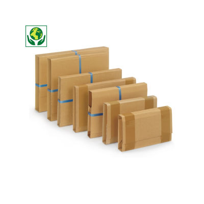 ECObook Kreuzbuchverpackung, braun