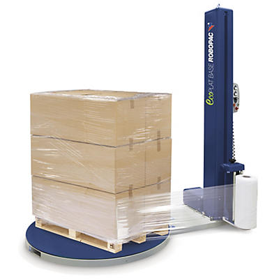Ecoplat turntable stretch wrapping machines