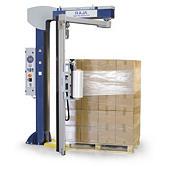 Ecowrap-semi automatic rotating arm stretch wrap machine