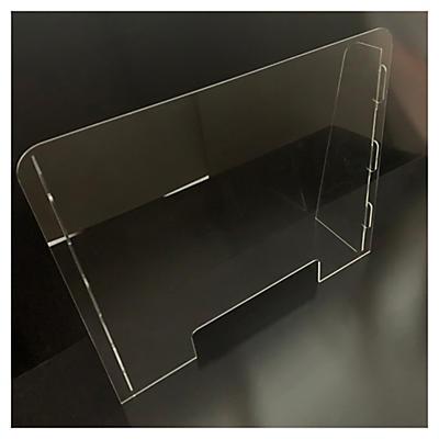 Écran de protection en verre acrylique##Acrylglas Schutzscheibe