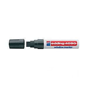 edding 4090 Tiza rotulador biselada punta 4 a 15 mm negro