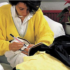 edding 8040 Rotulador para textil, punta ojival, 1 mm, negro