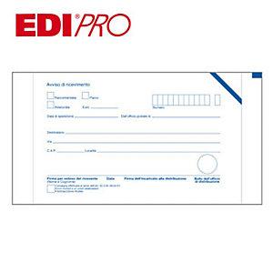 EDIPRO Cartoline di ritorno raccomandate con adesivo removibile (confezione 100 pezzi)