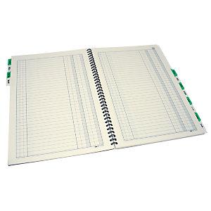 EDIPRO Libro scadenziario, 17 x 24 cm, Carta uso mano, Copie 36 (confezione 6 pezzi)