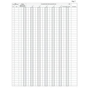 EDIPRO Registro corrispettivi per mancato funzionamento registratore di cassa, 24,5 x 31 cm, Carta uso mano, Copie 46 (confezione 10 pezzi)