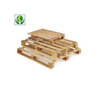 Einwegpaletten leicht aus Holz