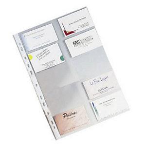 ELBA 10 Pochettes pour cartes de visite - Qualité +