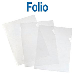 Elba Dossier uñero, Folio, polipropileno rugoso, 120 micras, transparente