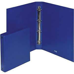 Elba Europa Raccoglitore ad anelli, 15 x 21 cm, Dorso 45 mm, Polipropilene, Blu