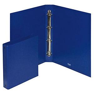Elba Europa Raccoglitore ad anelli, 23 x 33 cm, Dorso 45 mm, Polipropilene, Blu
