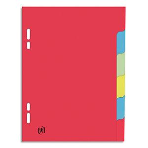 ELBA Intercalaires 17x22 cm / cartons 6 touches