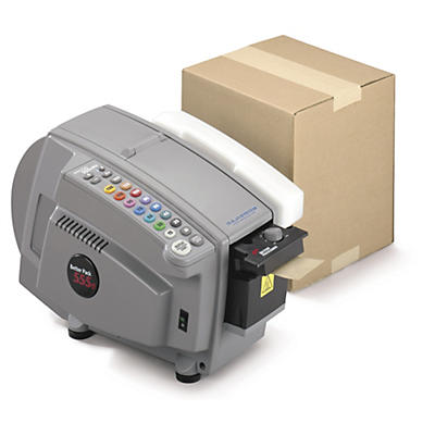 Elektrisk fugtemaskine til klæbebånd